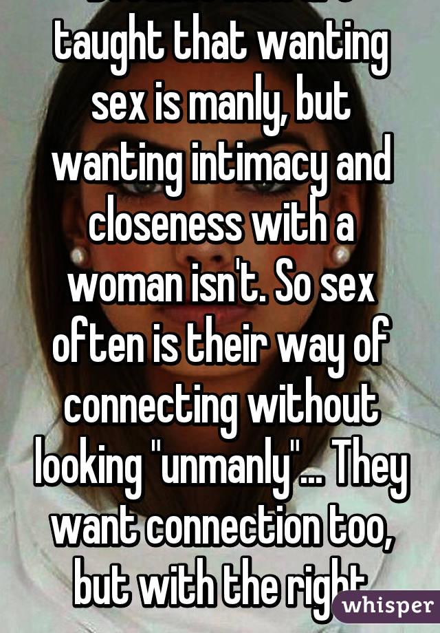 men wanting men