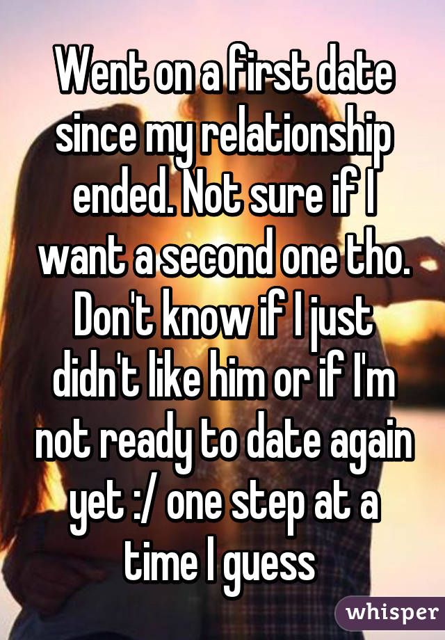 Dating but not wanting a relationship