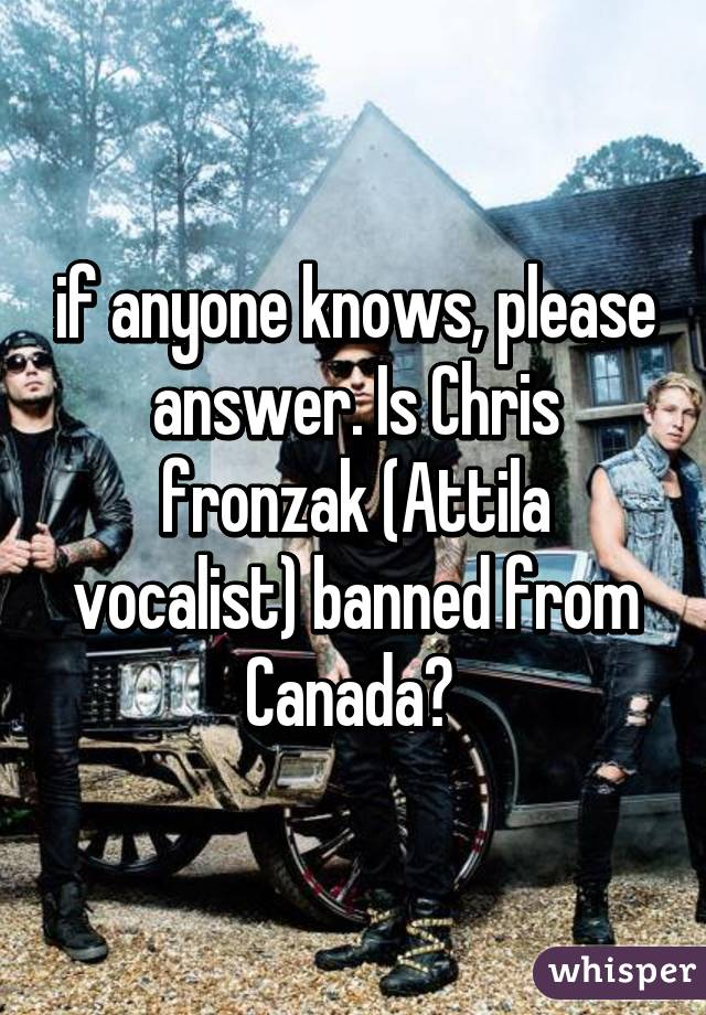 Please answer!? Anyone!?