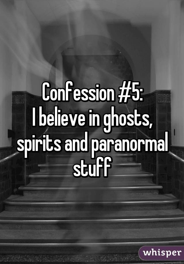 paranormal beliefs ghosts A recent gallup survey shows that just about three in four americans hold some paranormal belief -- in at least one of the following: extra sensory perception (esp), haunted houses, ghosts, mental telepathy, clairvoyance, astrology, communicating with the dead, witches, reincarnation, and channeling.