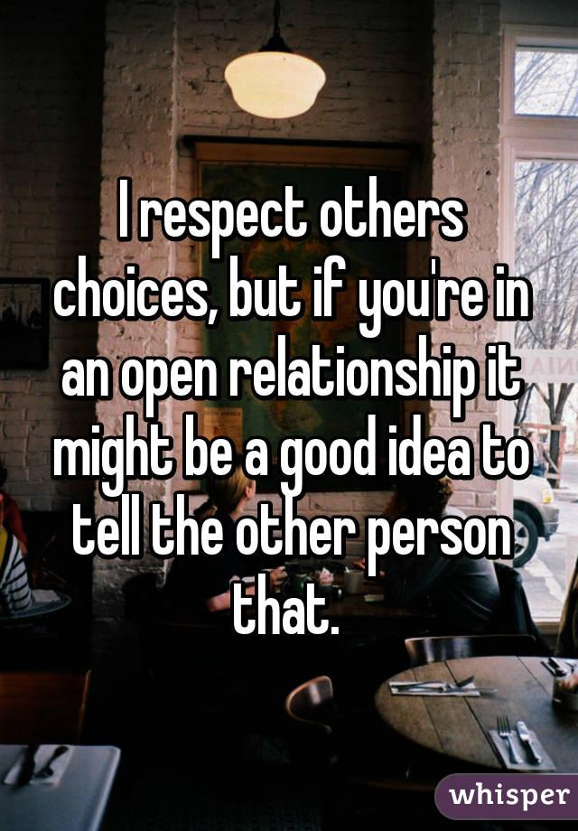 Is An Open Relationship A Good Idea