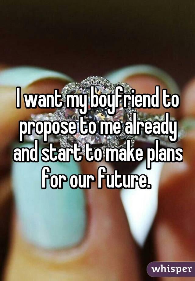 Why My Boyfriend Propose To Me Already? 3