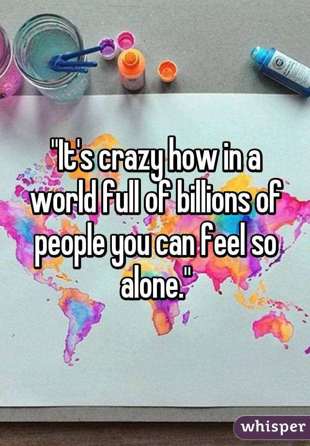 Billions Of People