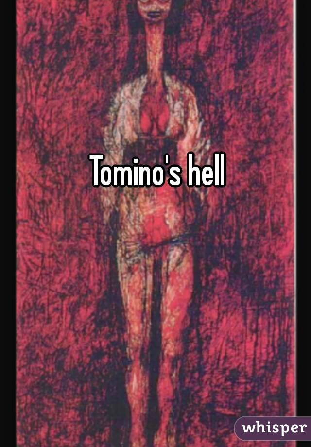 "tominos hell This is popular japanese story is about a poem called ""tomino's hell"" they say that you should only read with your mind, and never out loud if you were to."