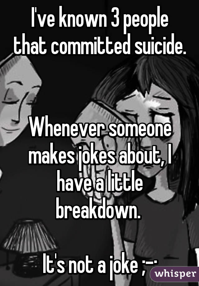 my mom committed suicide essay How to deal with suicidal parents the desire to commit suicide results from a it's given me new options on how to save my mom and i've contacted my.