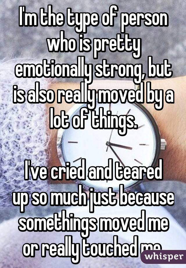 I have to write an autobiography on something that moved me emotionally.?