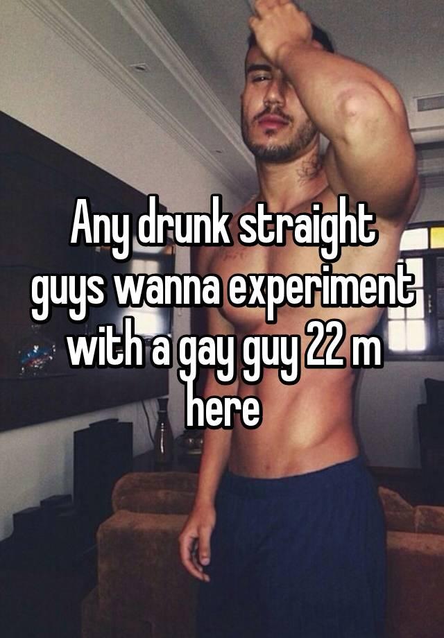 Straight Guys In Gay 102