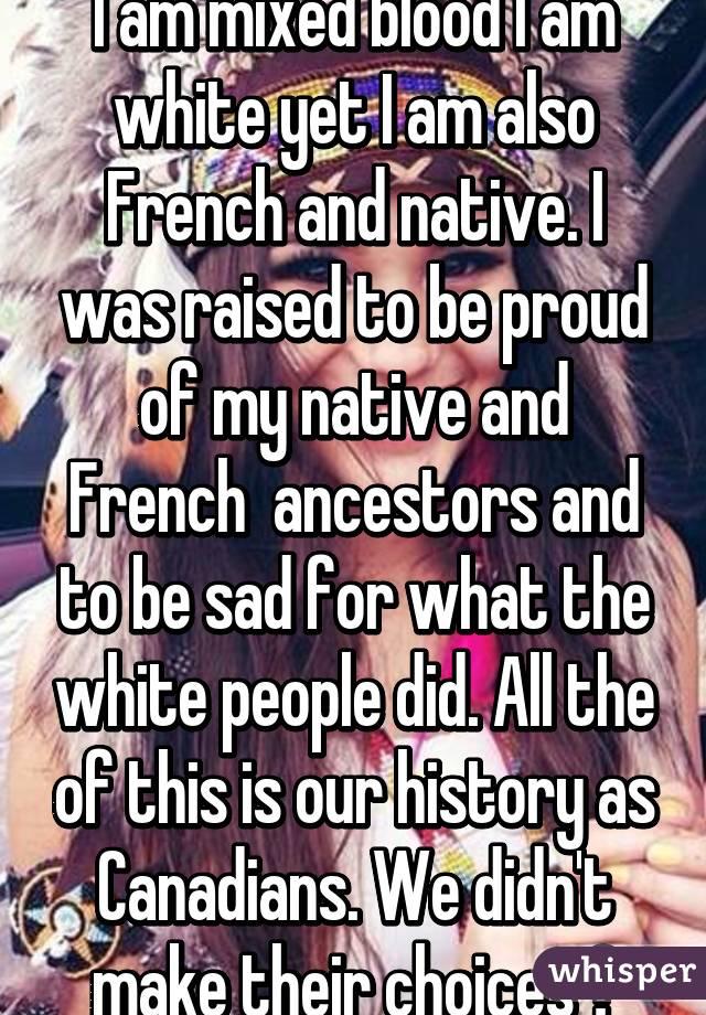 Am I White or am I Native?