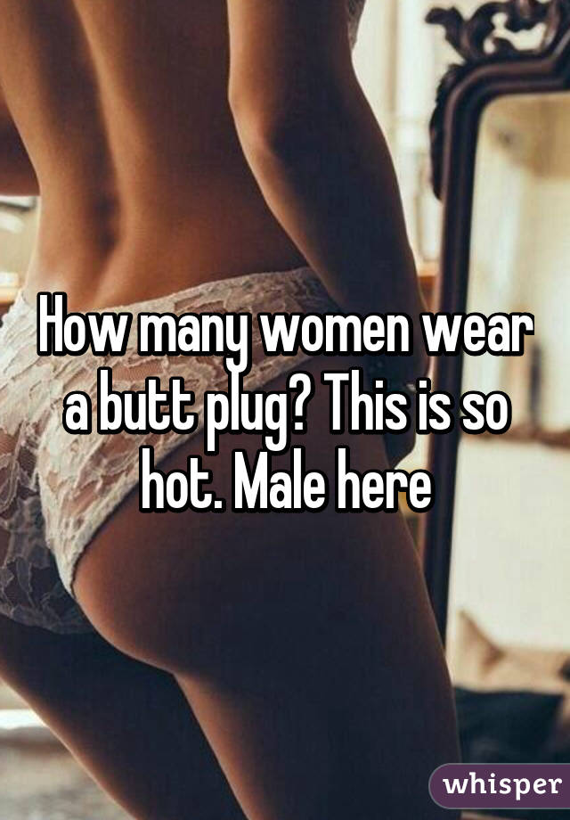 women+butt+plug+picture