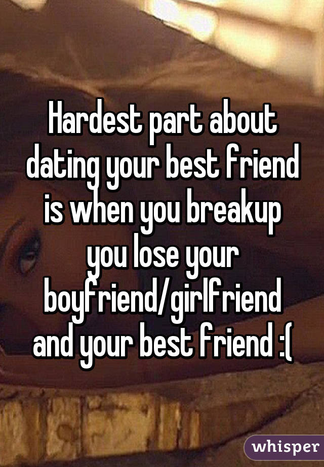 Rules on dating your best friends ex