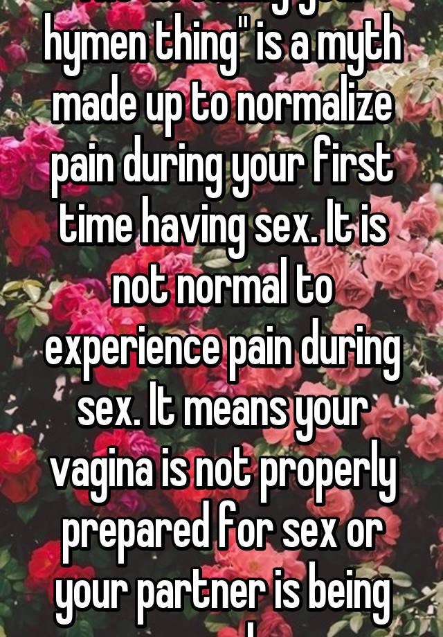 Erotic hymen breaking stories