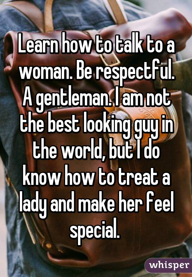 how to make your woman feel special