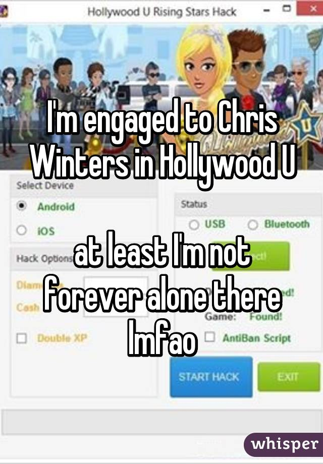 Hollywood u dating chris winters