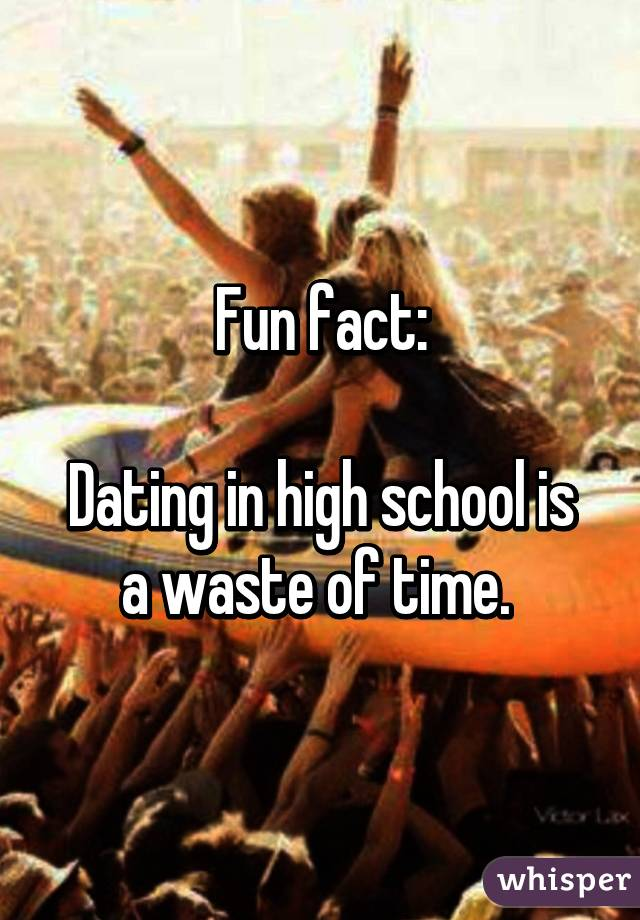 Do you think High-school is a waste of time?