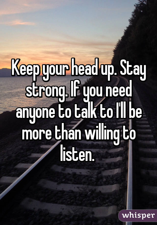 how to play keep your head up