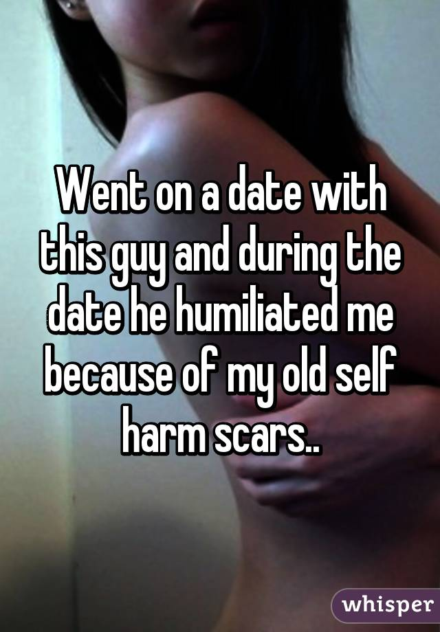 songs about self harm scars and dating