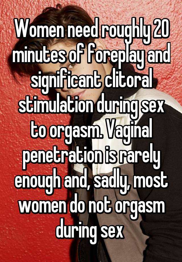 I cant have orgasm during vaginal penetration