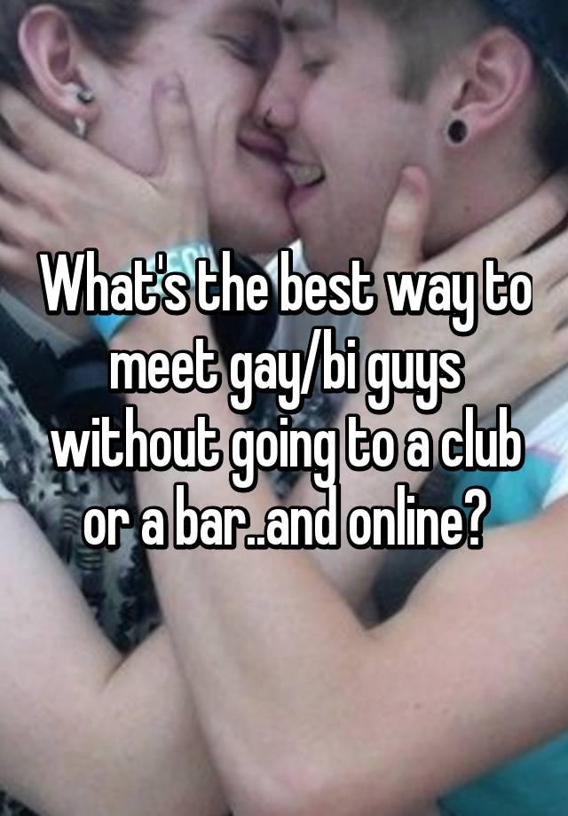 Best Ways To Meet Gay Guys