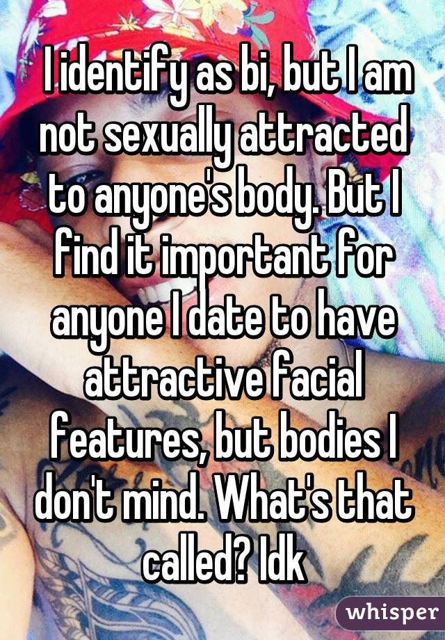 dating when not sexually attracted