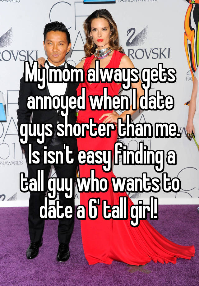 Im hookup a man shorter than me