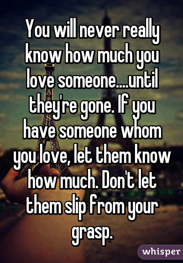 how to tell if you really love someone