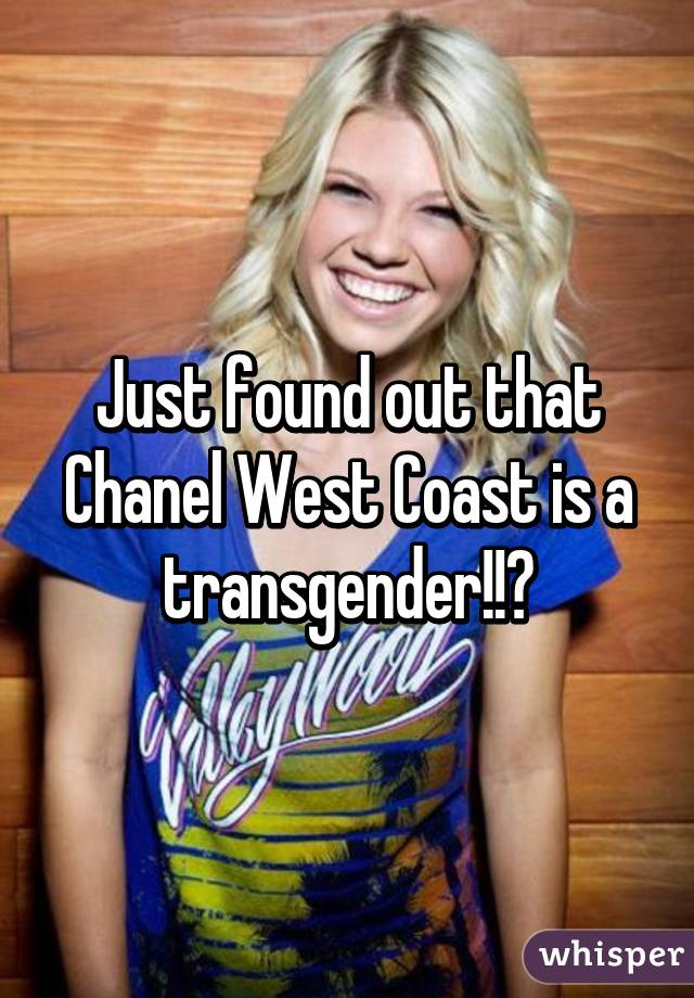 chanel sex coast a change Did have west