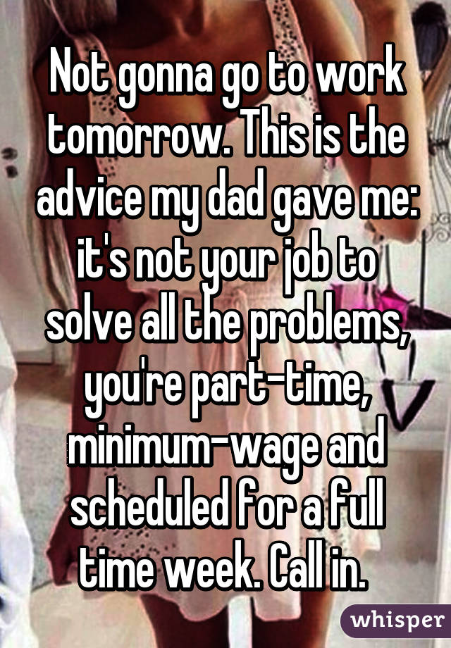 What is a good part-time job for my dad?