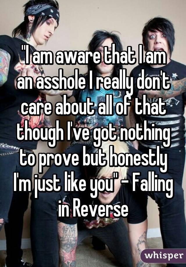 Just want im and asshole lyrics