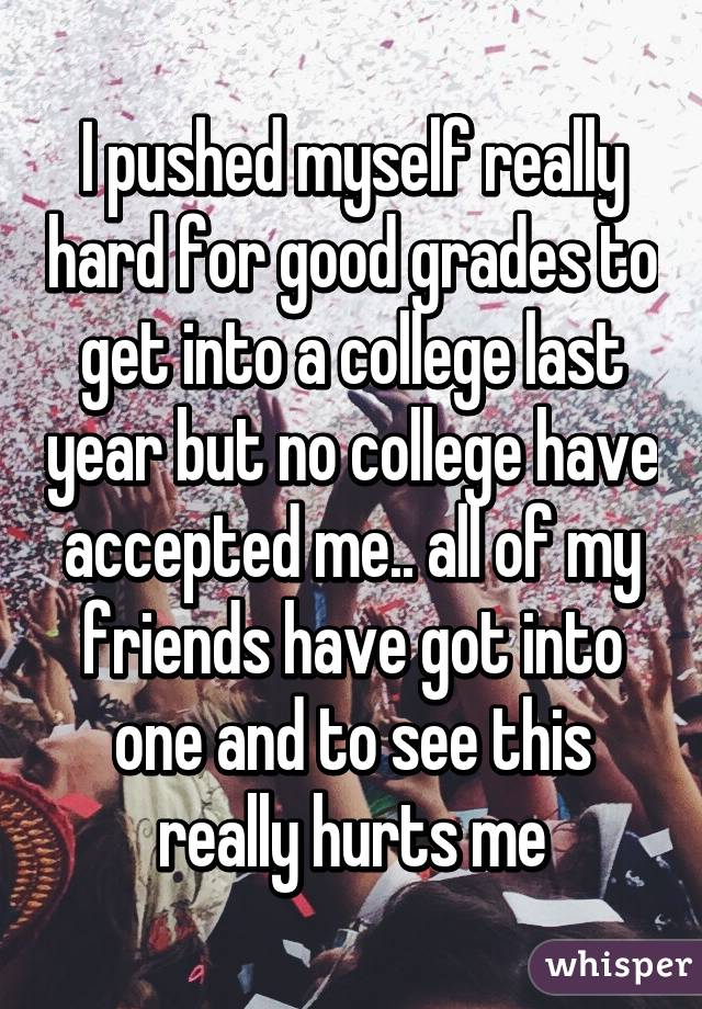 Is it really that hard to get into a good college?