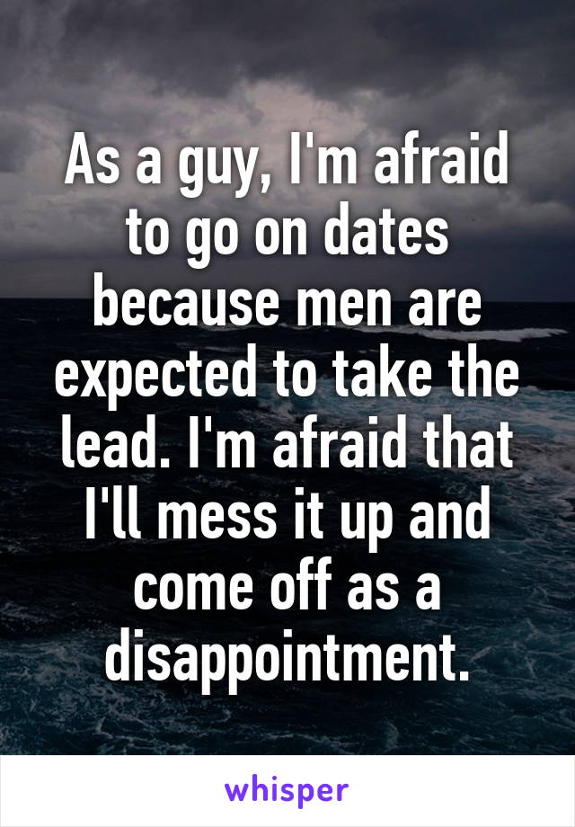 As a guy, I