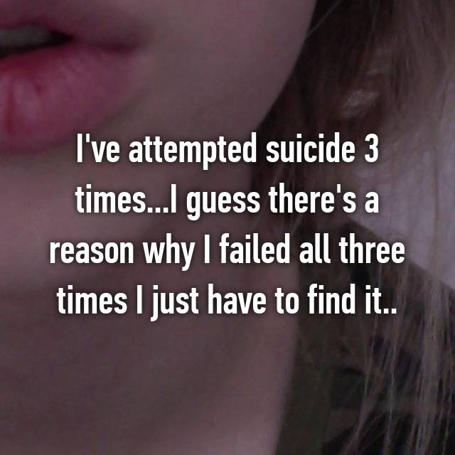 22 confessions from people who survived a suicide attempt