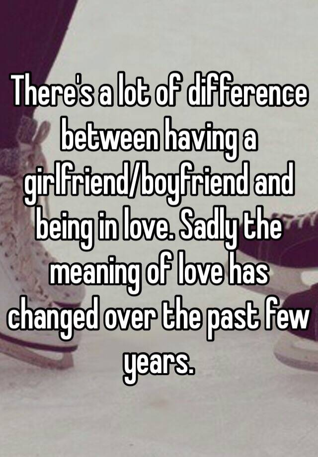 Whats the difference between dating and a relationship