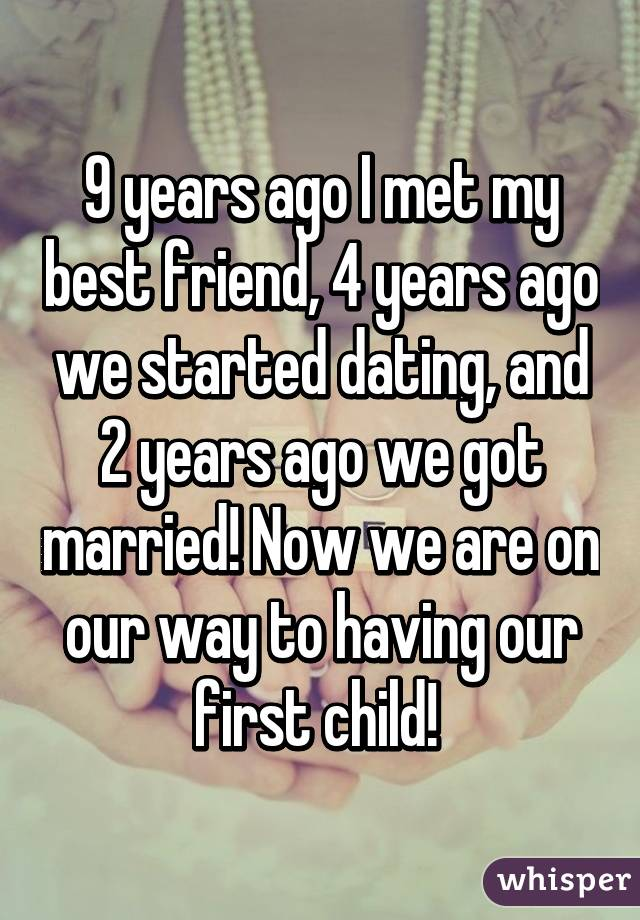 Started dating a friend