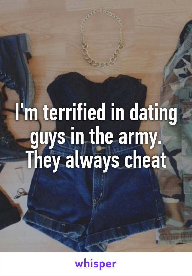 dating guys in the army