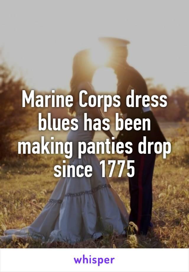 Marine Corps dress blues has been making panties drop ...