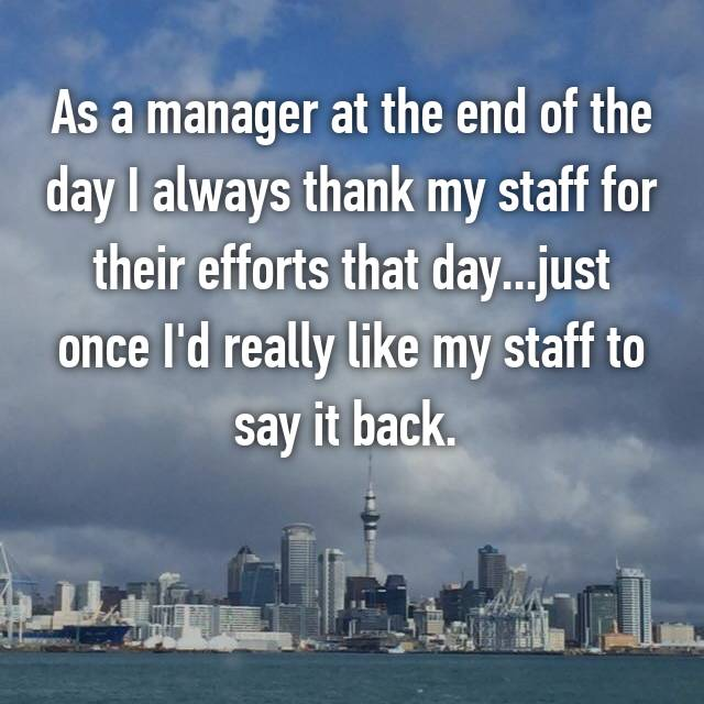 Here Are The Surprising Things Managers Say About Their ...