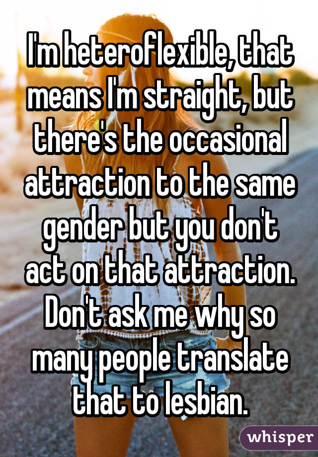 Same sex attraction has many causes