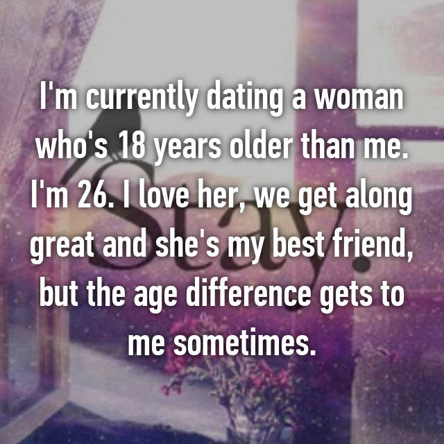 Age difference dating