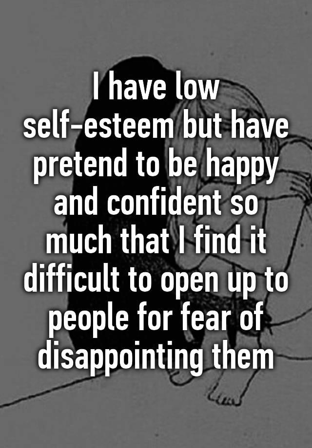 Online dating ruined my self esteem
