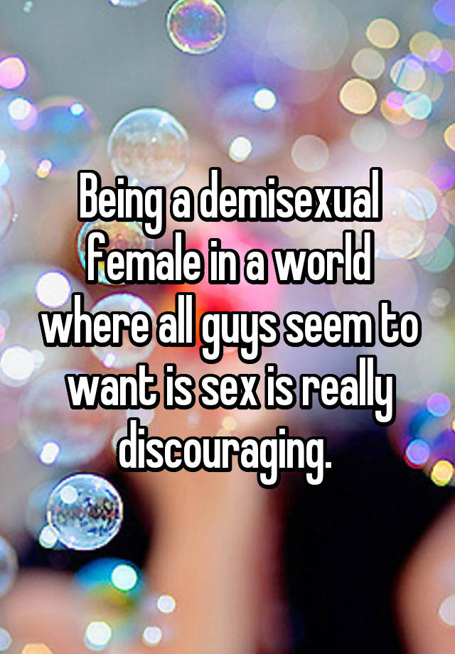 demisexual dating site