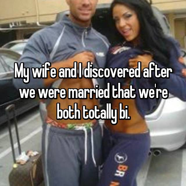 Wife had bisexual relationship before marriage