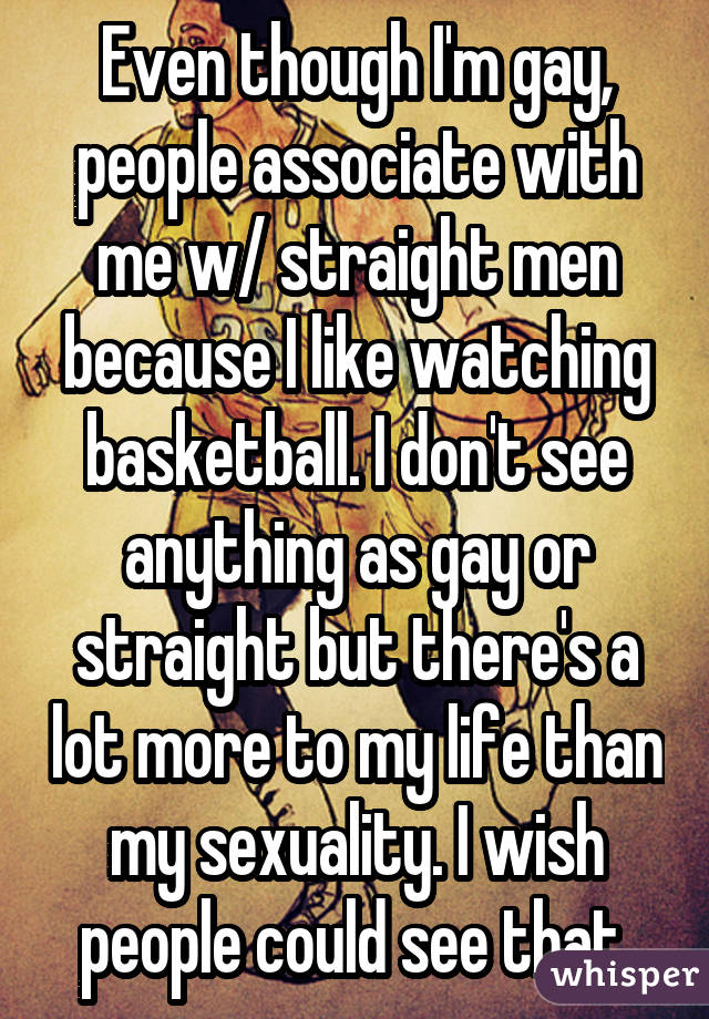 gay men are like everyone else