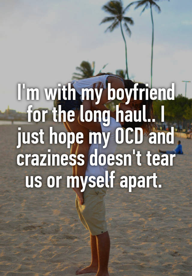 Having ocd and dating