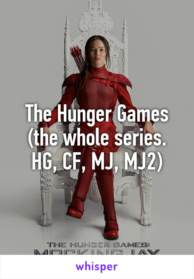 hunger games whole series
