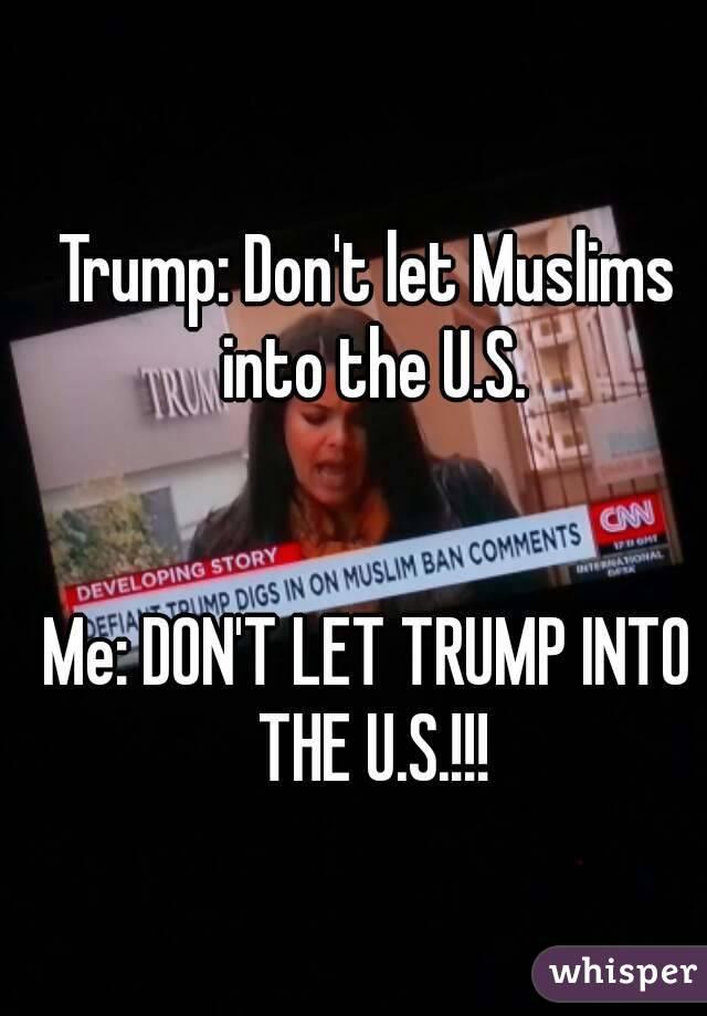 Trump: Don