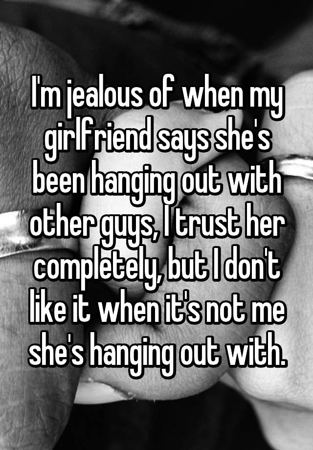 Why Does A Guy Get Jealous