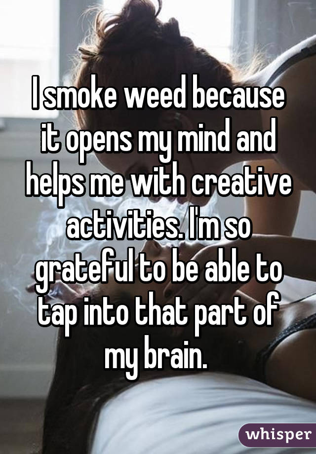 05279995a876489c43de64129076a8fa5e3840 wm People Tell All About Weed And Creativity