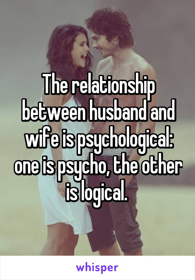 definition of relationship between husband and wife