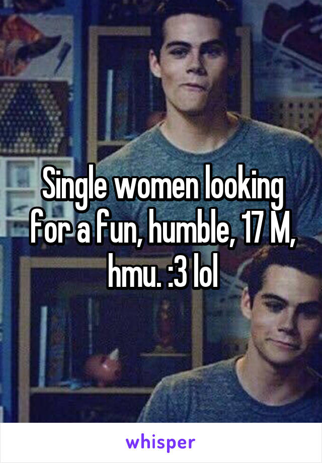 Humble single women