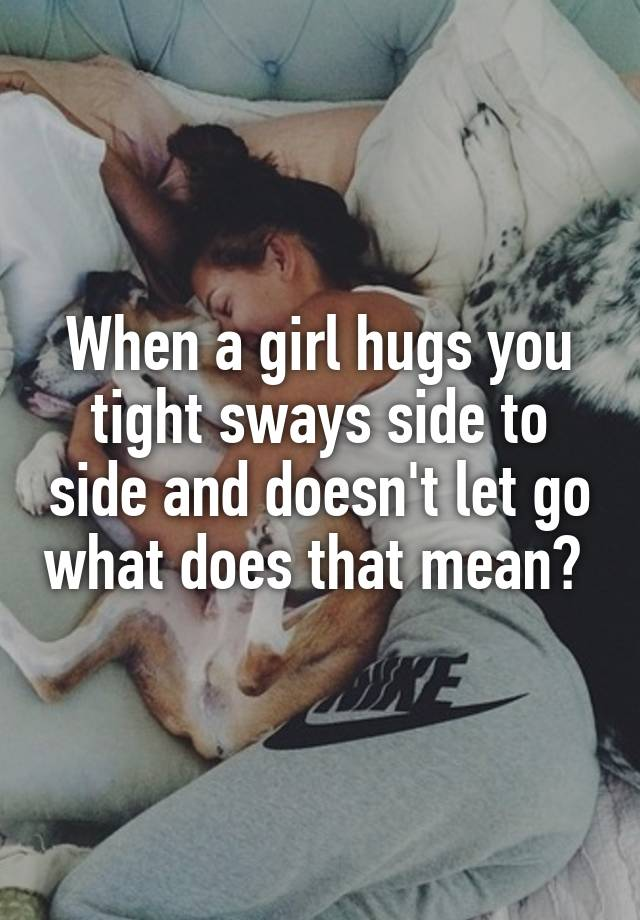 what does it mean when a girl